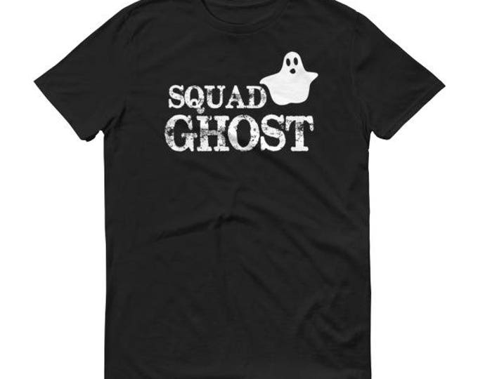 Squad Ghost Funny Men's Shirt for Halloween 2017