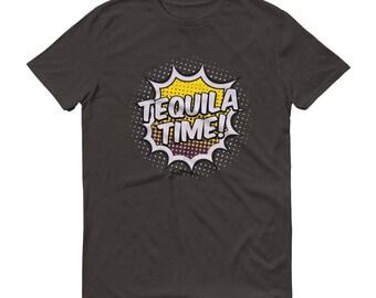 tequila Time t-shirt  - tequila shirt