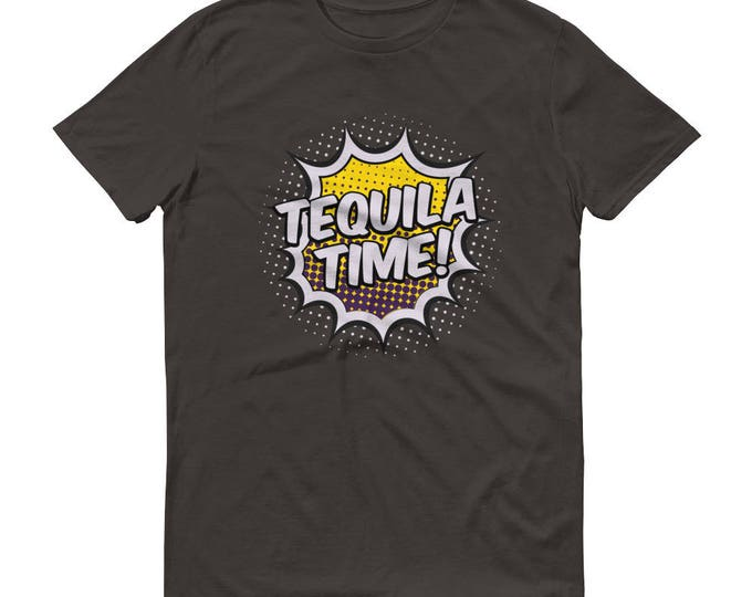Men's tequila Time t-shirt  - tequila shirt