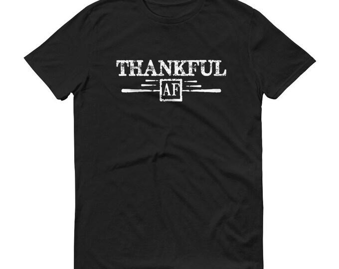 Men's Thankful AF Shirt , thankful shirt, thanksgiving shirt, fall shirt, thanksgiving shirts, grateful thankful
