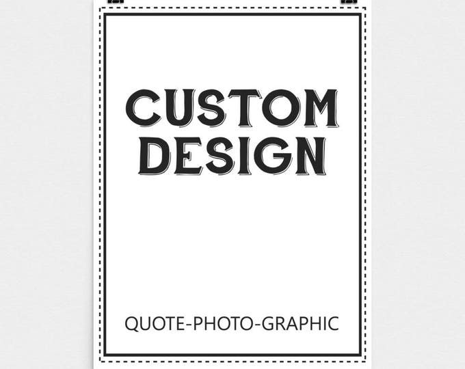 Photo paper poster - Premium Luster Photo Paper Poster  / Motivational quote / Typographic quote / Wisdom quote / Inspiring Business Quotes