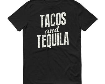 Tacos and Tequila t-shirt - Cinco de mayo party