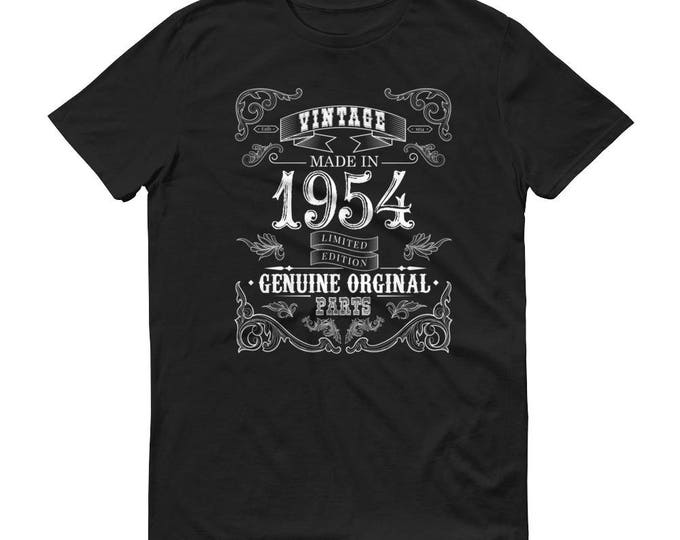 1954 Birthday Gift, Vintage Born in 1954 t-shirt for men, 65th Birthday shirt for him, Made in 1954 T-shirt, 65 Year Old Birthday Shirt