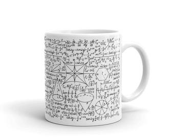 Math lover - Math Teacher Gift - Math Equation Cool Quadratic Formula Geek Nerd Coffee Mug - Math Equation mug - gift for math nerd