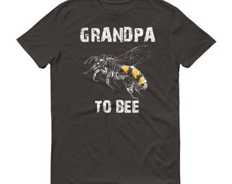 New grandpa gift,  Grandpa to bee t-shirt - first time grandpa gift, birth announcement, grandpa announcement, new grandpa shirt