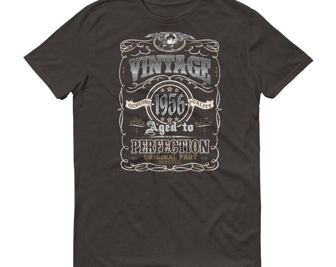 1956 Birthday Gift, Vintage Born in 1956 t-shirt for men, 63rd Birthday shirt for him, Made in 1956 T-shirt, 63 Year Old Birthday Shirt