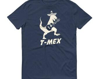 Men's T Mex T-shirt T-rex Mexican Cinco De Mayo, t-mex shirt, tyrannosaurus rex