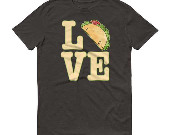 Men's Love Tacos t-shirt, I Love tacos, Funny taco shirt, Tacos Shirt, Taco Party, Mexican food, Cinco de Mayo, Fanny Tacos shirt for him