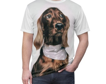 Custom Picture shirt - Picture on Shirt - Personalized All-Over Printed T-Shirt Custom T-Shirt custom dog cat shirt