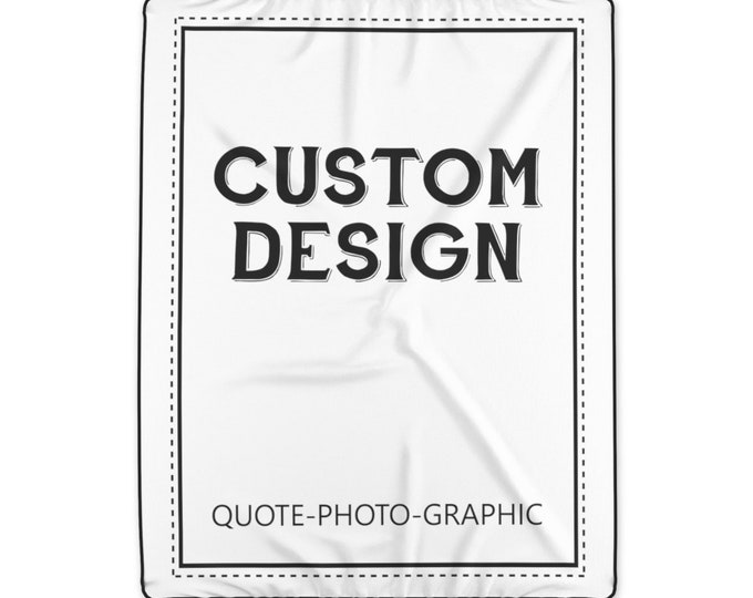 Custom Photo Blanket for Adult -Custom throw blanket - Custom Picture Blanket - Personalized Polyester Blanket - Personalized family blanket