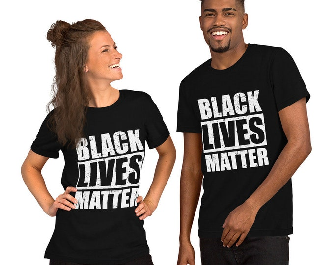 Black Lives Matter T-shirt - Stand in solidarity with all who are fighting to save Black lives - All lives Matter