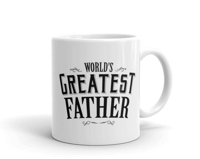 World's Greatest Father Coffee Mug