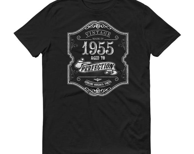 1955 Birthday Gift, Vintage Born in 1955 t-shirt for men, 64th Birthday shirt for him, Made in 1955 T-shirt, 64 Year Old Birthday Shirt