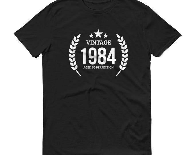 1984 Birthday Gift, Vintage Born in 1984 t-shirt for men, 35th Birthday shirt for him, Made in 1984 T-shirt, 35 Year Old Birthday Shirt