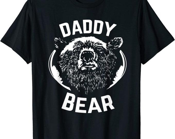 Papa bear shirt father's day new papa t-shirt Daddy tee - Daddy Bear funny dad Shirt gift for Men