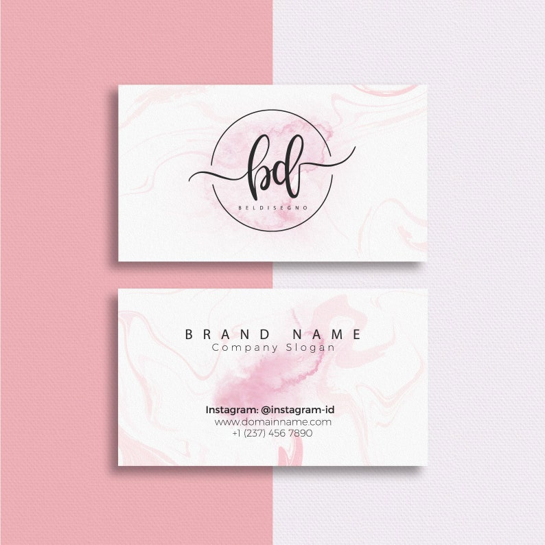 Business Card Printing Single or Double Sided Custom Printed image 0