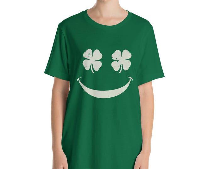 Shamrock Emoji t-shirt St Patrick Day Shamrock Shirt