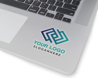 Custom Laptop Sticker, Custom Magnet Weatherproof Stickers, wedding sticker, logo sticker, Personalized Sticker Name decals Silver Gold Foil