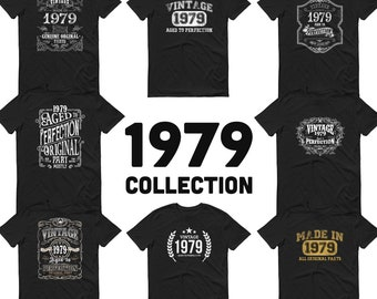 1979 Birthday Gift, Vintage Born in 1979 t-shirt, 42nd Birthday shirt, Made in 1979 T-shirt, 42 Year Old Birthday Shirt 1979 Collection