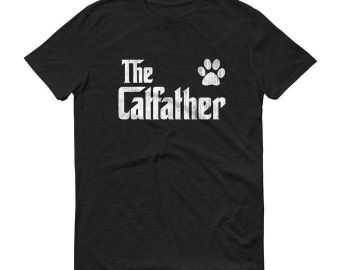 Cat Lover Gift | The catfather Shirt for Cat Dad |  The Catfather cat shirt for cat dad man - Cat dad t shirt