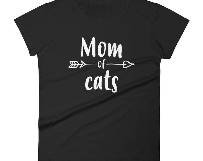 Mom of Cats t-shirt - Gift for cat lovers owners, cat mom, cat lover gift, cat lover, cat mom gift, cat mom shirt, cat owner