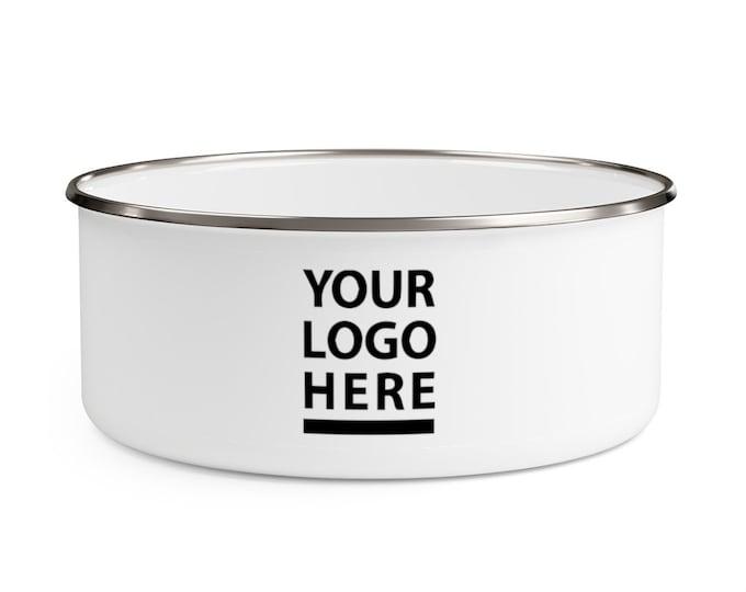 Custom Food Storage Food container Enamel Bowl 20 oz 30 oz 40 oz