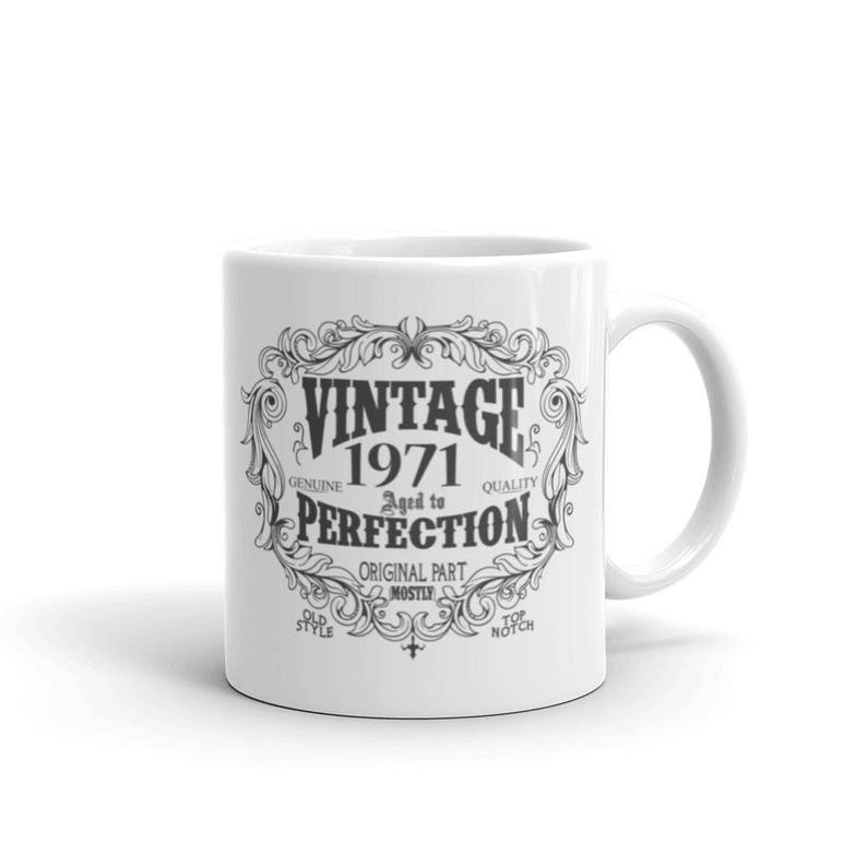 Born In 1971 Mug 48 Years Old Coffee Birthday Gift For