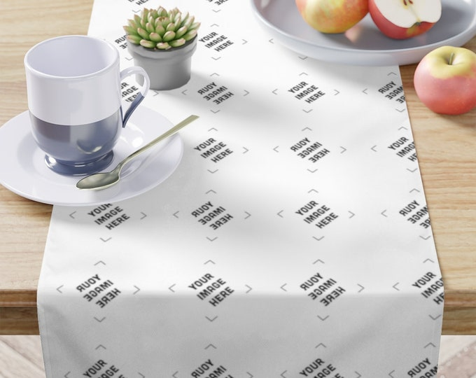Custom Table Runner Personalized Long Kitchen table Runners - Personalized gifts