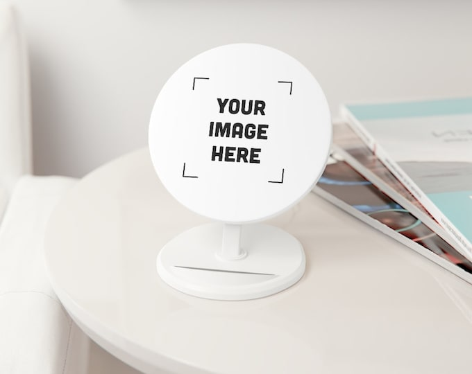 Custom Induction Charger Personalized phone charger for android