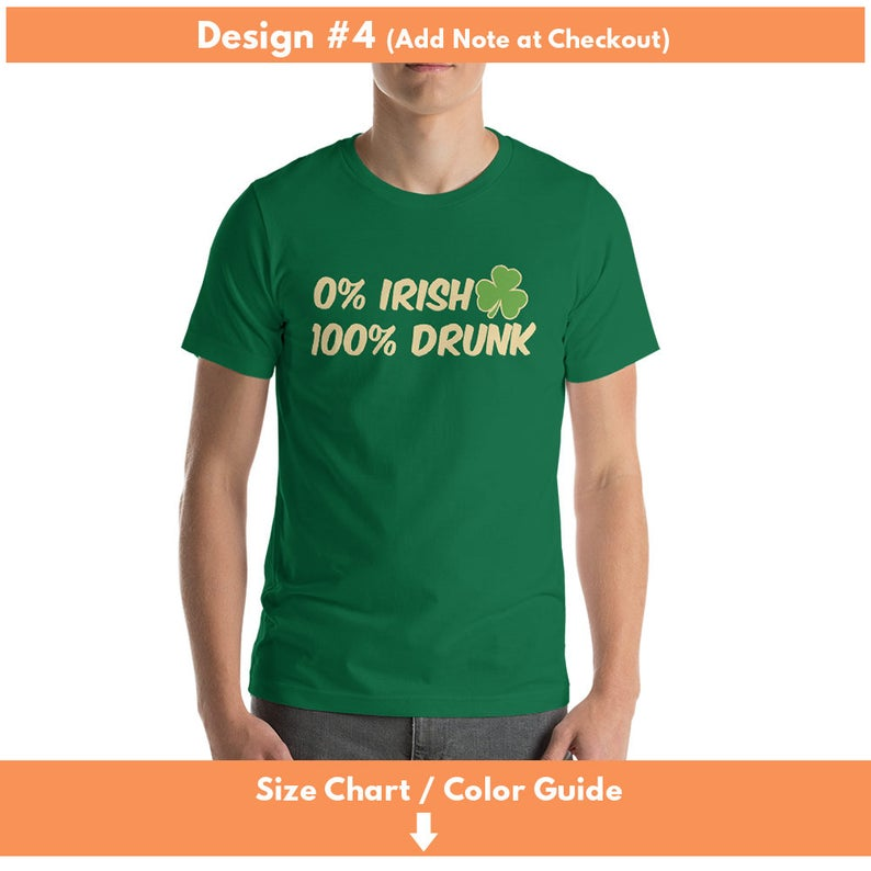 4a4dc7353 0 Irish 100 Drunk Shirt St Patrick's Day t-shirt | Etsy