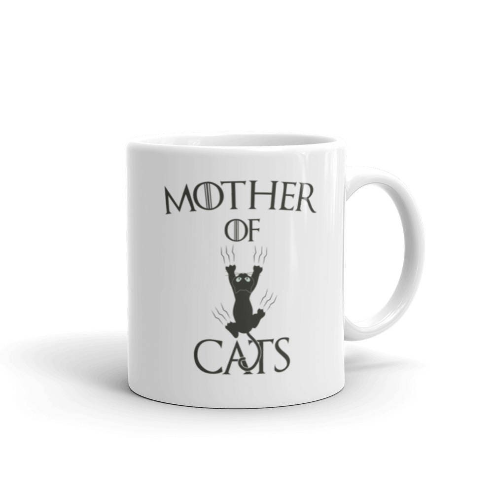 cat gift mother of cats coffee mug cat lover gift cat gift