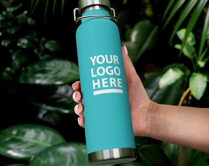 Personalized Water Bottle Insulated , Custom 22oz Vacuum Insulated Bottle Custom name Bottle logo