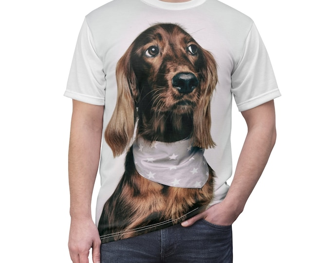 Custom Picture shirt - Picture on Shirt - Personalized All-Over Printed T-Shirt Custom T-Shirt custom dog cat shirt self gift