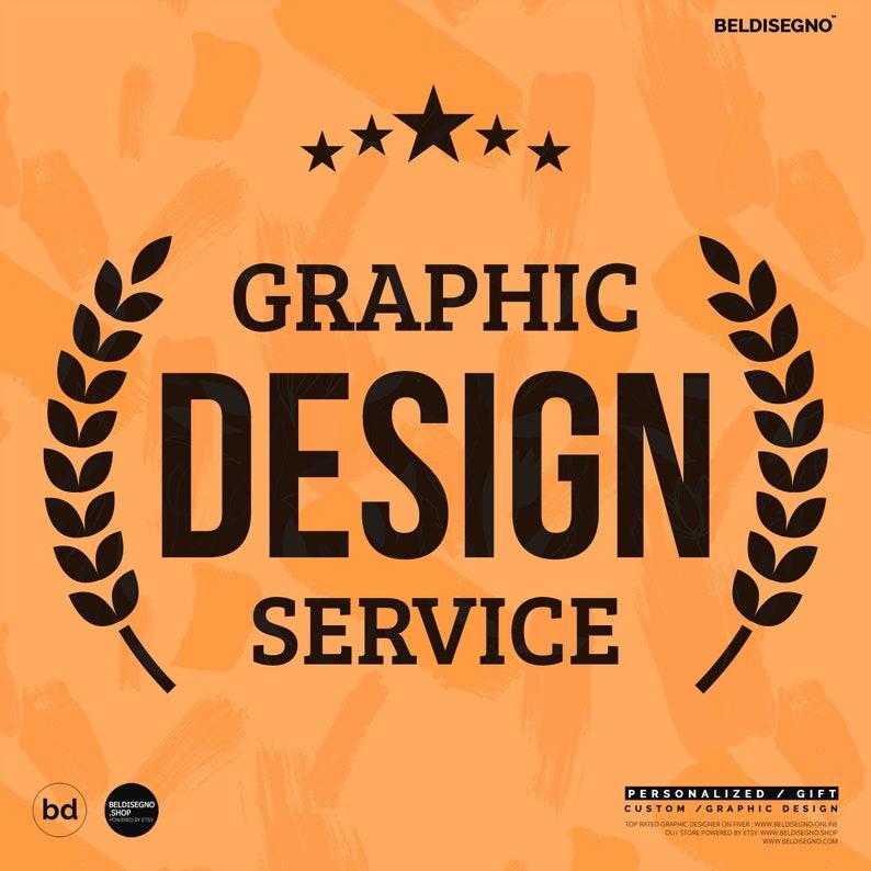 Custom Design Service Graphic Designer Poster T-shirt image 0