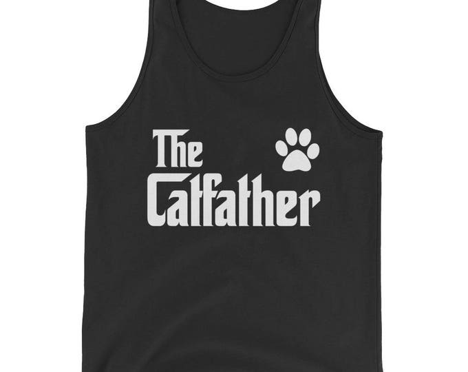 The CatFather Tank Top - Cat Lovers Gift for Cat Dad
