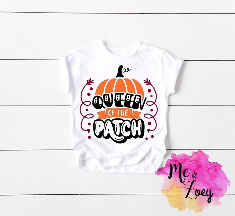 cute pumpkin shirt Queen of the pumpkin patch girl pumpkin patch shirt Pumpkin Patch kids shirt cute girl pumpkin patch outfit -