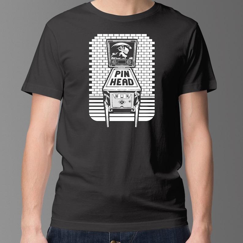 Pinball T-Shirt  Pinhead Shirt For Proud Pinball Fanatic  image 0