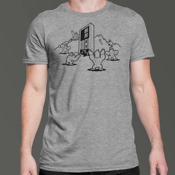 Pinball Nes Classic Black Box Video Game T Shirt