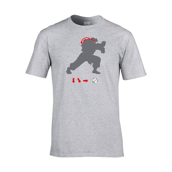 Street Fighter Ryu Shirt Etsy