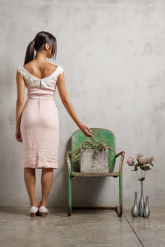 1950s Wiggle Dress - image 4