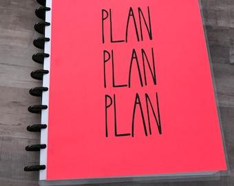 Rae Dunn Inspired: Plan On It Teacher Planner 2018-2019