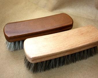 3a5cbcf921e Craft Horse Hair Brush Leathercraft Handcraft Shose Cleaning Polishing  Maintain Condition Treatment Finish