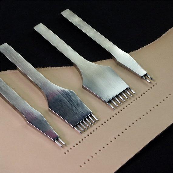 One Leather Craft Wooden Mallet Ciseau piquage Iron Punch Marteau Outil Nouveau