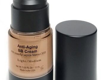 Vegan BB Cream, Anti-Aging Cream, Organic BB Cream, Medium Light BB Cream, Vegan Primer, Natural Vegan Primer, Anti Aging, Organic primer
