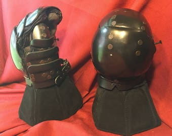 Heavy Armored Combat Full Gauntlets by SPES - SCA Legal Larp REN Fighting Gear Knight Ren Faire Costume