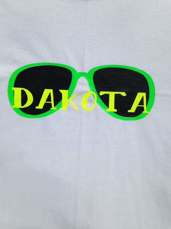 094a5eb77a Boys  Personalized Neon Sunglasses T-Shirt