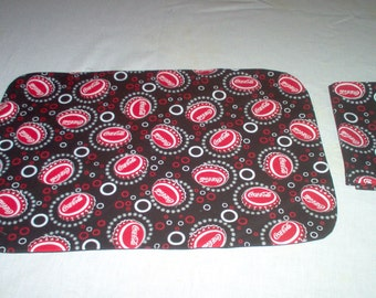 Handmade Placemat And Napkin Made Using Coca Colta Fabric