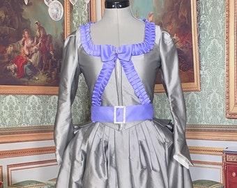 1780's peplum bodice and petticoat