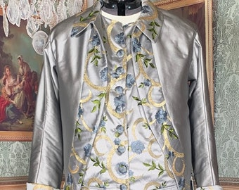 Baroque Rococo Colonial 18th century gentleman's suit