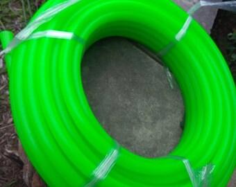 5/8 UV Peridot Polypro Custom, Dance, Travel, Performance Hula Hoop